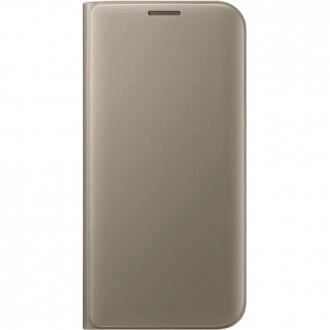 Оригинален калъф за Samsung G935 S7 Edge Flip Wallet Gold