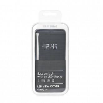 Оригинален калъф за Samsung S9 Plus черен LED View Cover EF-NG965PBEGWW