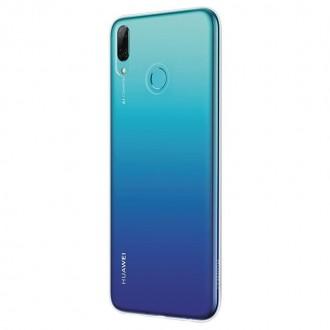 Оригинален кейс Huawei P Smart 2019 Flexible Clear Case прозрачен