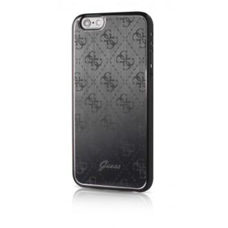 Оригинален кейс за iPhone 6/6S Guess заден твърд гръб GUHCP6MEBK черен