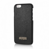 Оригинален кейс за iPhone 6/6S Guess заден твърд гръб GUHCP6TBK черен