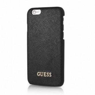 Оригинален кейс за iPhone 6/6S Guess заден твърд гръб GUHCP6TBK черен