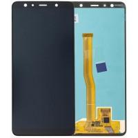 Оригинален LCD Дисплей Super AMOLED за Samsung A750 A7 2018