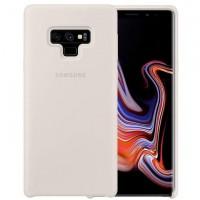 Оригинален силиконов калъф кейс за Samsung Galaxy Note 9 Silicone Cover EF-PN960TWEGWW White