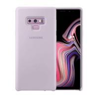 Оригинален силиконов калъф кейс за Samsung Galaxy Note 9  Silicone Cover Lavender EF-PN960TVEGWW , лилав