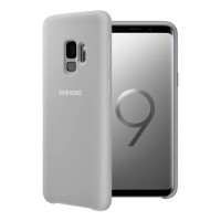 Оригинален силиконов калъф кейс за Samsung Galaxy S9 plus Silicone Cover Case EF-PG965TJEGWW , сив