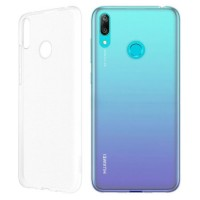 Оригинален силиконов калъф за Huawei Y6 2019 Flexyble Clear Case , прозрачен