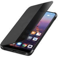 Оригинален страничен калъф Smart View за Huawei P20 черен