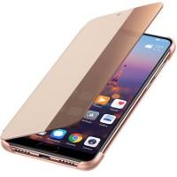 Оригинален страничен калъф Smart View за Huawei P20 розов