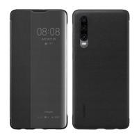 Оригинален страничен калъф тип тефтер Smart View Cover за Huawei P30 черен