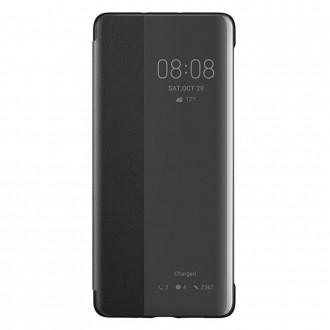 Оригинален страничен калъф тип тефтер Smart View Cover за Huawei P30 lite, черен