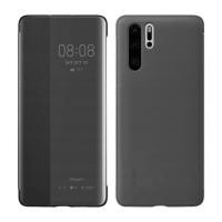 Оригинален страничен калъф тип тефтер Smart View Cover за Huawei P30 Pro черен