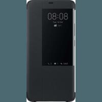 Оригинален страничен калъф тип тефтер за Huawei Mate 20 Pro Smart View Cover черен