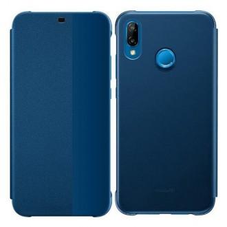 Оригинален страничен калъф тип тефтер за Huawei P20 Lite ( 51992314 ) син