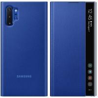 Оригинален страничен калъф тип тефтер за Samsung Galaxy Note 10 Plus (EF-ZN975CLEGWW) син