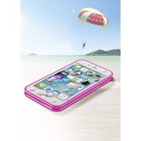 "Оригинален водоустойчив калъф 360 "" Cellularline за iPhone 6/6s Voyager Compact розов"