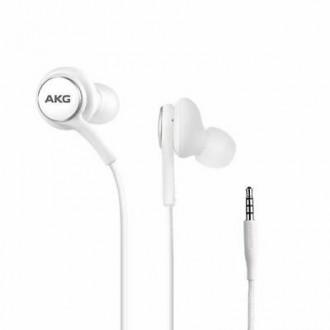 Оригинални слушалки AKG EO-IG955 за Samsung Galaxy S10 / S10 Plus, бели