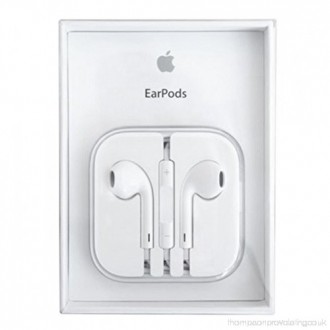 Оригинални слушалки за iPhone Apple Headset EarPods MD827ZMA with Remote / Mic Retail packaging