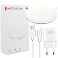 Оригинално Wireless зарядно Huawei Quick Charge CP60 с адаптер USB/Type-C, бяло