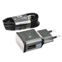 Оригинално зарядно 220V Samsung EP-TA20EBE Fast Charge Tipe C 2A