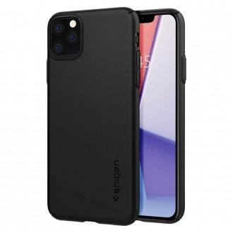 Пластмасов калъф кейс Spigen Thin Fit за iPhone 11 Pro черен