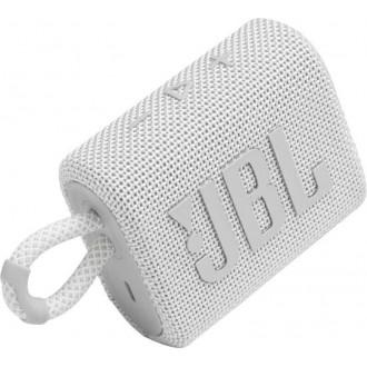 Преносима Bluetooth колонка JBL Go 3, Бяла