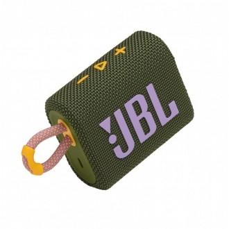Преносима Bluetooth колонка JBL Go 3, Green