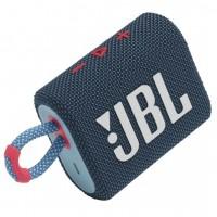 Преносима Bluetooth колонка JBL Go 3, Синя-розово