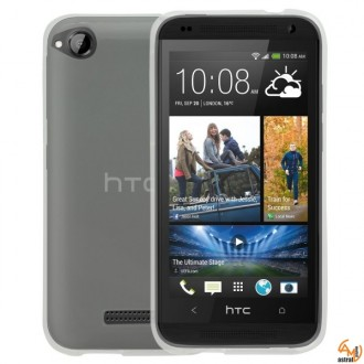Силиконов калъф за HTC Desire 320 прозрачен