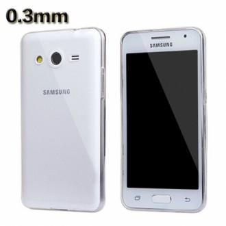 Силиконов калъф за Samsung Galaxy J1 0.3мм прозрачен