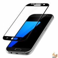 Стъклен протектор за дисплея за Samsung Galaxy S7 черен