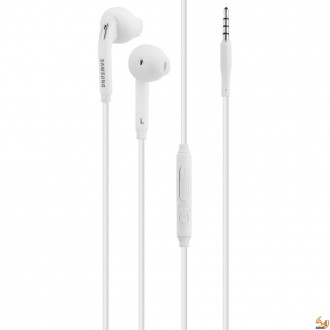 Stereo Headset Samsung EO-EG920BW Galaxy S6/S7 3.5 mm бели