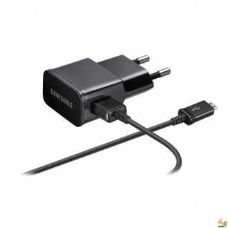 Original Travel Charger Samsung N7100 Galaxy Note II [ETAU90EBE] 2A black