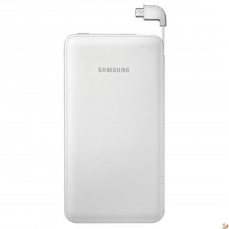 Външна батерия /външно зарядно/ Samsung EB-PG900BW 6000 mAh бяла