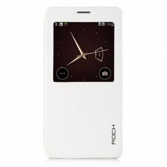 Rock Flip Case Uni Series for Galaxy A7 white