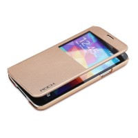 Rock Flip Case Uni Series Preview for Galaxy S5 gold