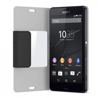 Sony Style Cover SCR26 for Xperia Z3 Compact black