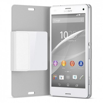 Sony Style Cover SCR26 for Xperia Z3 Compact white