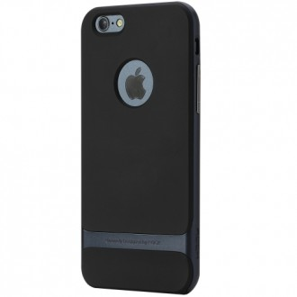 Rock Faceplate Royce Series for iPhone 6/6S Plus iron grey
