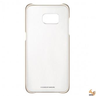 Samsung Clear Cover EF-QG935CF за Galaxy S7 edge gold