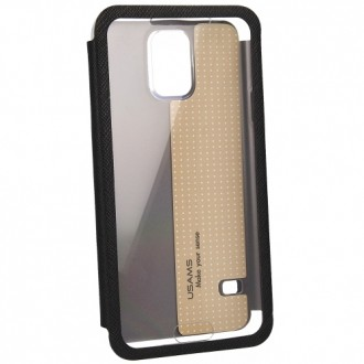 USAMS Flip-Case Touch Series for Galaxy S5 black
