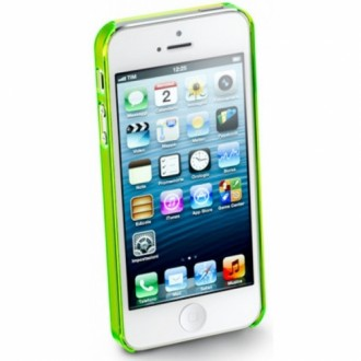 Cool Fluo iPhone 5/5S зелен Cellular line