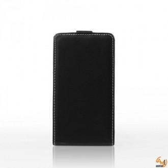 Калъф тип тефтер за Sony Xperia Miro ST23 черен