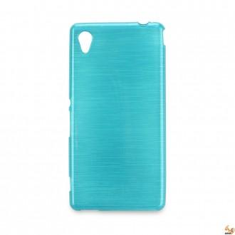Силиконов калъф за Sony Xperia M4 син