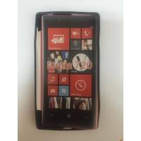 Силиконов калъф за Nokia Lumia 720 черен