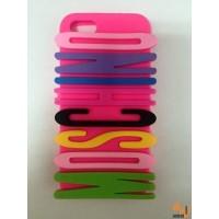 Силиконов калъф за iPhone 5/5S moschino