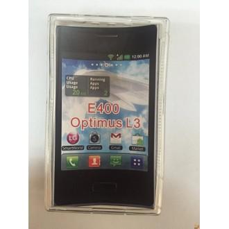 Силиконов калъф за LG L3 прозрачен