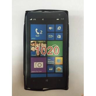Силиконов калъф за Nokia Lumia 1020 черен