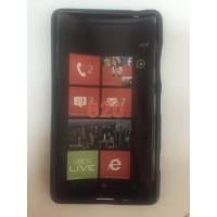 Силиконов калъф за Nokia Lumia 820 черен
