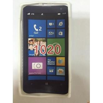 Силиконов калъф за Nokia Lumia 1020 бял